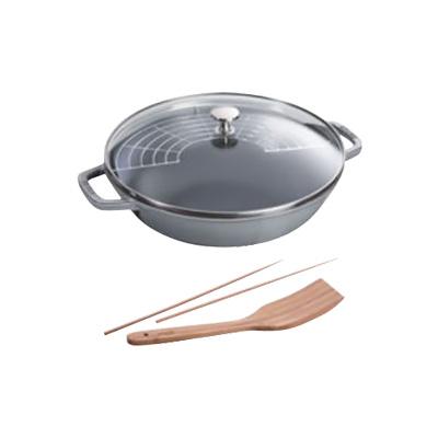 ストウブ ( staub ) ビュッフェパン 30cm 40511-462 <グレー> 【 アドキッチン 】