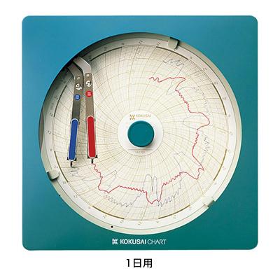 温湿度記録計 温湿きろく君 (KC10-WD) 1日用