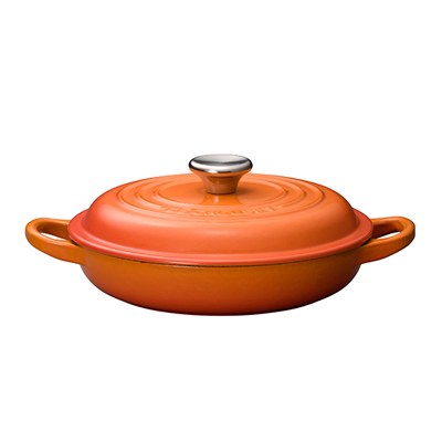 ル・クルーゼ ( LE CREUSET ルクルーゼ ) ビュッフェキャセロール 2132 18cm <オレンジ>【 アドキッチン 】