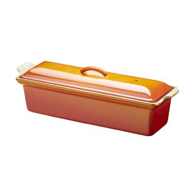 ル・クルーゼ ( LE CREUSET ルクルーゼ ) オレンジテリーヌ 小 28cm