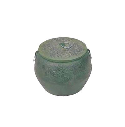 鉄鋳物 火消し壺 大々 φ240×H180mm【 アドキッチン 】