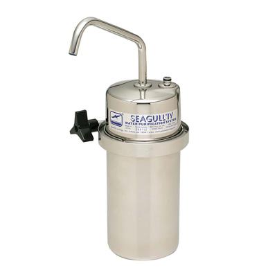浄水器 シーガルフォー X-2DS (カウンター据置タイプ) φ127×H253mm(373mm)【 アドキッチン 】