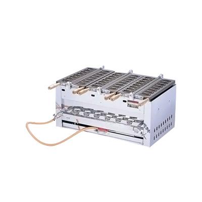 SA にこにこミニ鯛焼ガス台(24ヶ型) SATS-3連 12・13A 800×470×H340mm【 アドキッチン 】