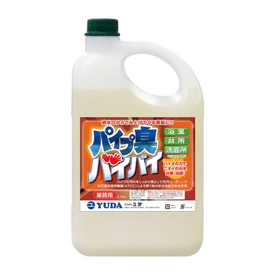 消臭用バイオ製剤 パイプ臭バイバイ 3.75L【 アドキッチン 】