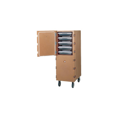 キャンブロ カムカート2ドアタイプフードボックス用 1826DBC 550×845×H1620mm <コーヒーベージュ>