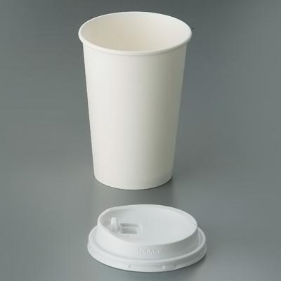 最適な材料 紙カップ 白無地(1000枚入) SMT-400 直径84×H116mm, 吉備中央町 c3b58e69