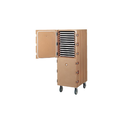 キャンブロ カムカート2ドアタイプ シートパン用 1826DTC 550×845×H1620mm <コーヒーベージュ>【 アドキッチン 】