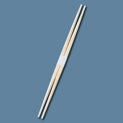 割箸 杉らん中 白帯巻 24cm (1ケース2000膳入) 全長240mm