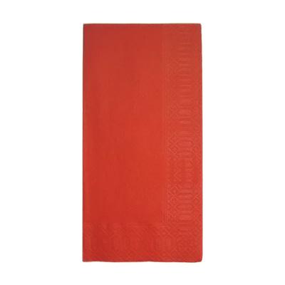 カラーナプキン 8ッ折 45cm 2ply(2000枚入) 450×450mm <レッド>