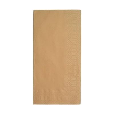カラーナプキン 8ッ折 45cm 2ply(2000枚入) 450×450mm <ブラウン>