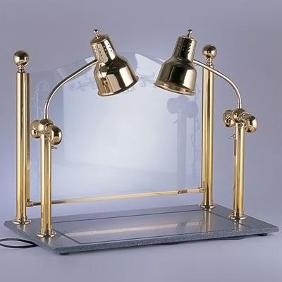 カービング ディスプレイヒートランプウォーマー 2灯タイプ 910×510×H760mm