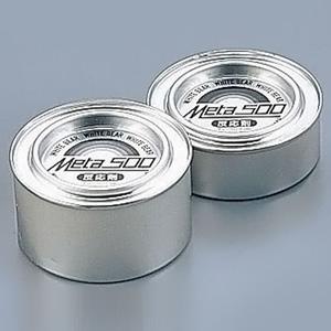 チェーフィング500専用反応剤メタ500 No.261-W(1ケース96入数) φ88×H48mm