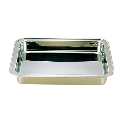 UK 18-8 ユニット角湯煎用 ウォーターパン 24インチ