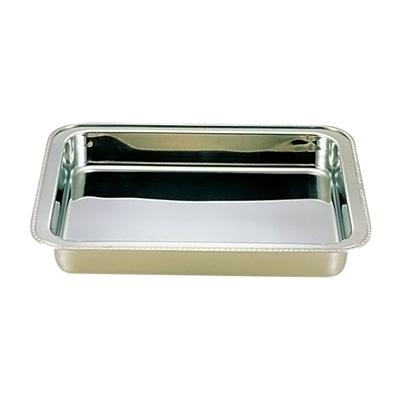 UK 18-8 ユニット角湯煎用 ウォーターパン 30インチ