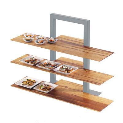 カル・ミル 3段フレームライザー用 棚板(1枚) バンブー 1449-60 815×290(195)×H13mm
