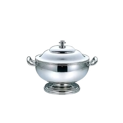 UK 18-8 バロン 丸スープチューリン M 1500c.c.【 アドキッチン 】