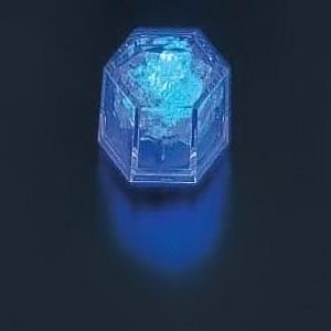 ライトキューブ・クリスタル(24個入)(高輝度モデル) 38×33×H40mm <ブルー>