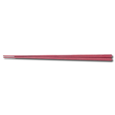 Re プラ箸 PPS(100膳入) 四角箸 18112 全長230mm <茶>