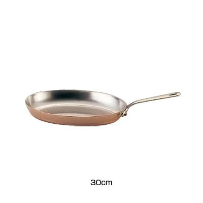 モービル カパーイノックス 片手オーバルパン 6525.30 30cm