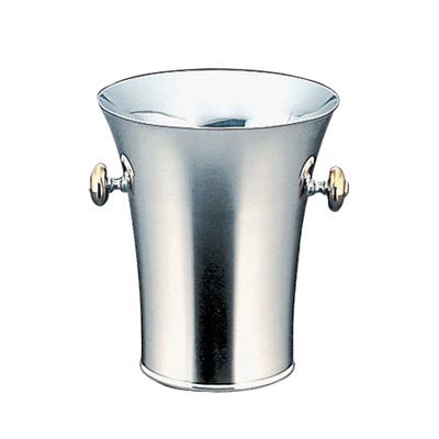 トリオ 18-8 二重パーティークーラーB 型(目皿・トング付) 1.2L
