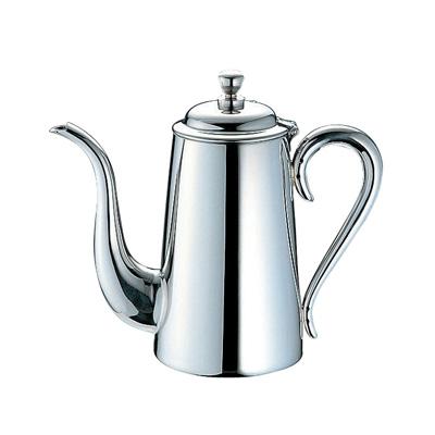 【エントリーでP5倍!6/4 20:00-6/11 1:59】UK 18-8 M型 コーヒーポット 7人用 1000c.c.【 アドキッチン 】