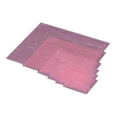 金箔紙ラミネート (500枚入) M30-423 300×300mm <桃>【 アドキッチン 】