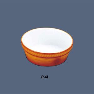 シェーンバルド 丸オーブンディッシュ 茶 3011-24B 2.4L
