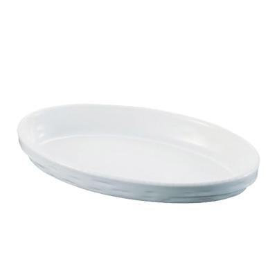 シェーンバルド オーバルグラタン皿 3011-40W 367×220×H48mm <白>