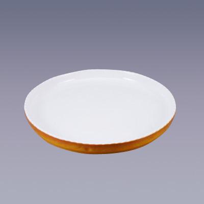 ロイヤル 丸型グラタン皿 PC300-50 直径500×H50mm <カラー>