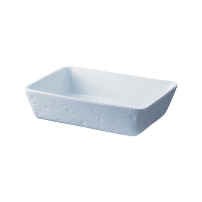 ロイヤル 長角深型グラタン皿 PB520-40-10 400×300×H100mm <ホワイト>