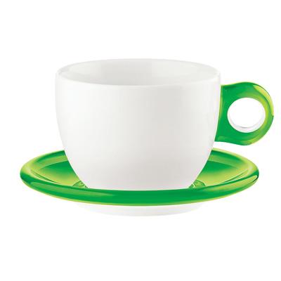 グッチーニ ラージコーヒーカップ 2客セット 2775.0044 450c.c. <グリーン>【 アドキッチン 】