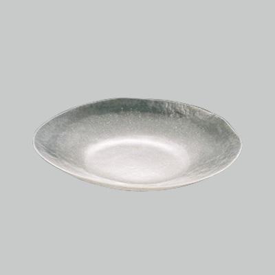 硝子和食器 白雪22 小判盛込皿(特大) 600×465×H80mm
