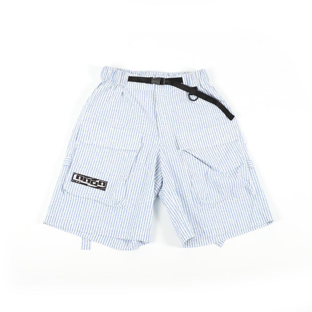 機能的な素材と とがったデザインが特徴の台湾ブランド Cubex Shorts - Blue Stripe SS5 結婚祝い ユニセックス UNISEX WEAVISM ウィービズム 公式 201904 2019SS