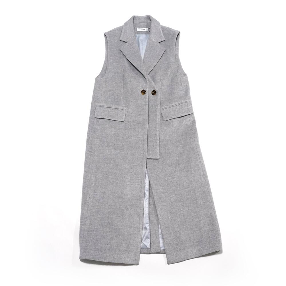 No:OSK-FW21-26B Name:Ceases To レビューを書けば送料当店負担 Be Color:Light Grey Mixed Size:XS 202108 LABEL OSKER 2021AW LADY'S THE レディース S 人気海外一番