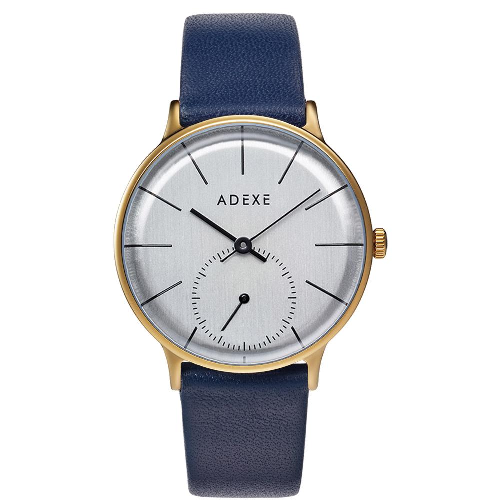 ADEXE (アデクス) 1870B-T01 ユニセックス 腕時計 PETITE (プチ) 33mm ゴールド シルバー ネイビー ギフト インスタ映えマスト! ADEXE (アデクス)