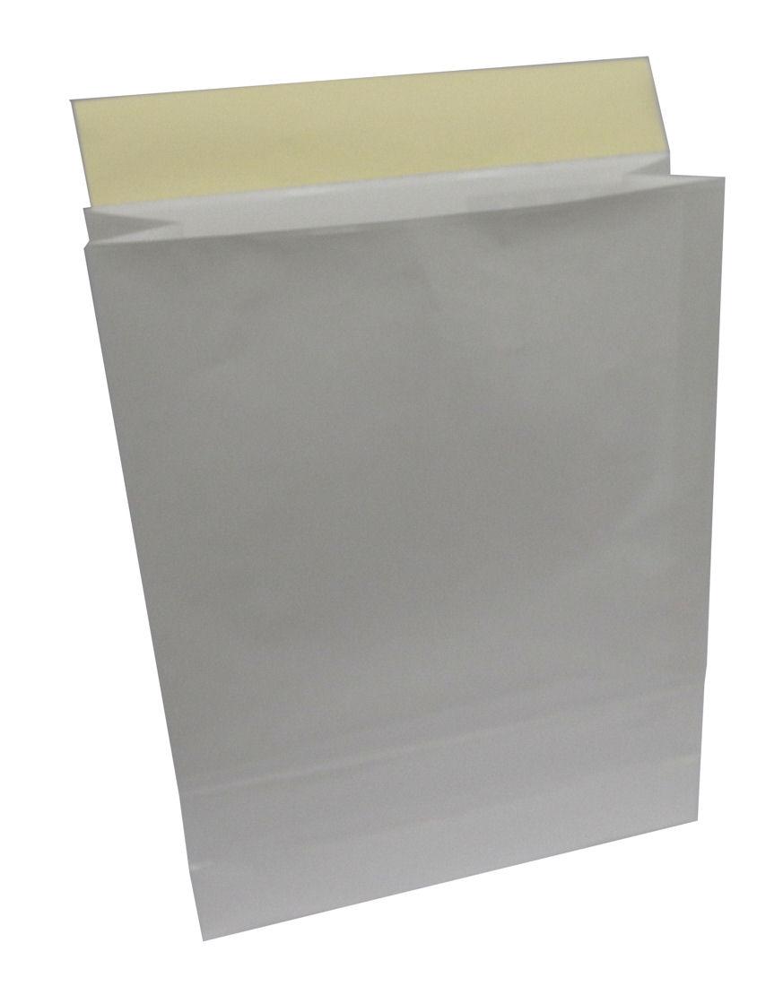 宅配用白紙袋 320*110*410+55 80g/m2+PPコーティング 250枚