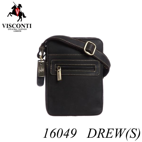 本革/旅行/レザーミニショルダーバッグ【VISCONTI】DREW[S]/16049