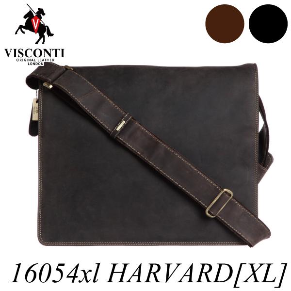 本革/A4/フルフラップ レザーメッセンジャーバッグ【VISCONTI】HARVARD[XL]/16054xl
