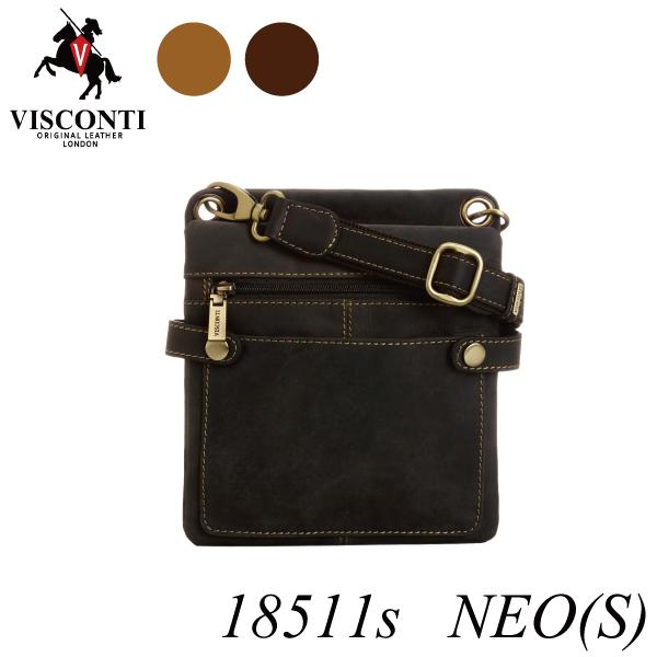 本革/シザーバッグ/レザーミニショルダーバッグ【VISCONTI】NEO[S]/18511s