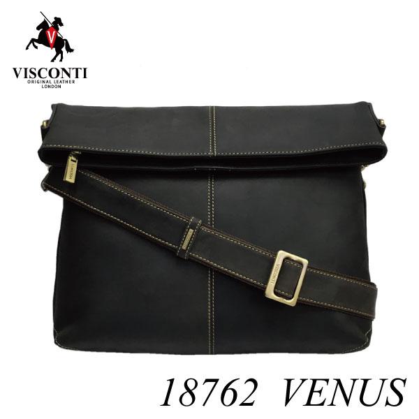 口折れ2wayショルダーバッグ VENUS/18762【VISCONTI】本革/A4/レザー/