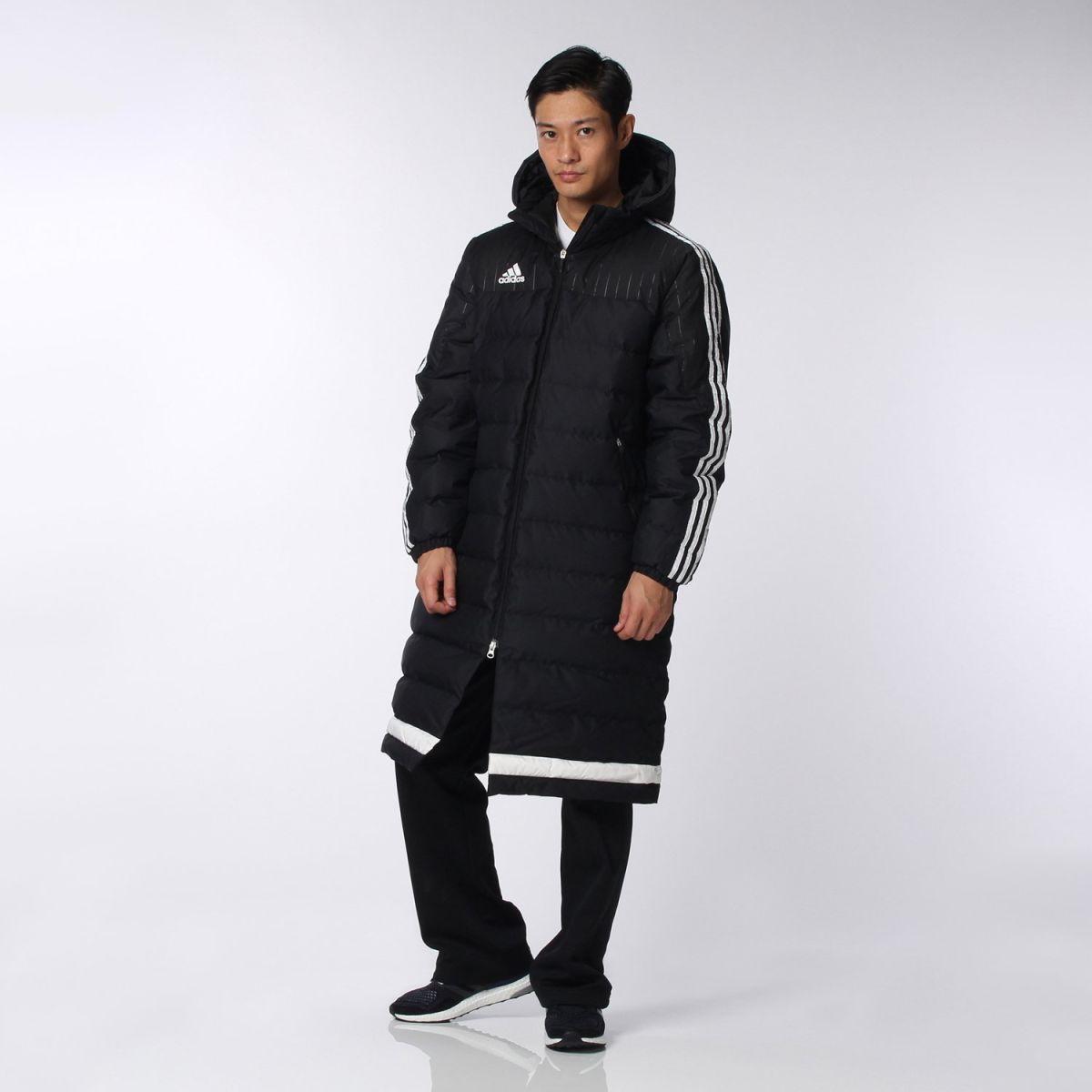 【公式】アディダス adidas エース TIRO15 ロングダウンコート メンズ サッカー ウェア アウター ダウン AA6885 p1215