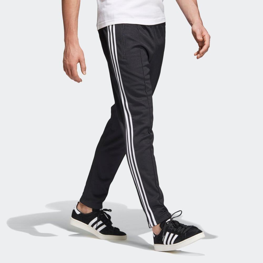 Adidas adidas three stripe trackpants Beckenbauer ?????? adicolor men originalsware bottoms underwear jersey CW1269 [line underwear] p1017