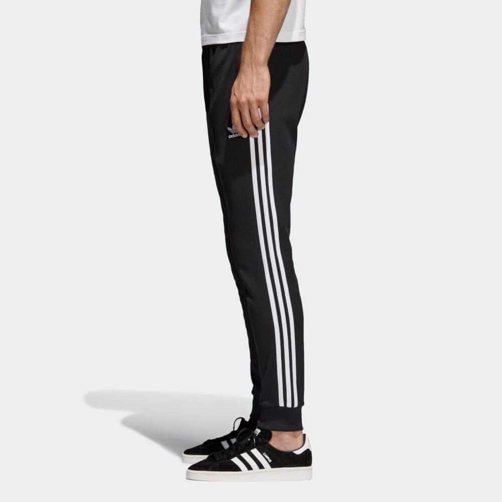 【公式】 ウェア 【adicolor】 adidas ポリエステル CW1275 綿 アディダス インターロック SST TRACK PANTS メンズ