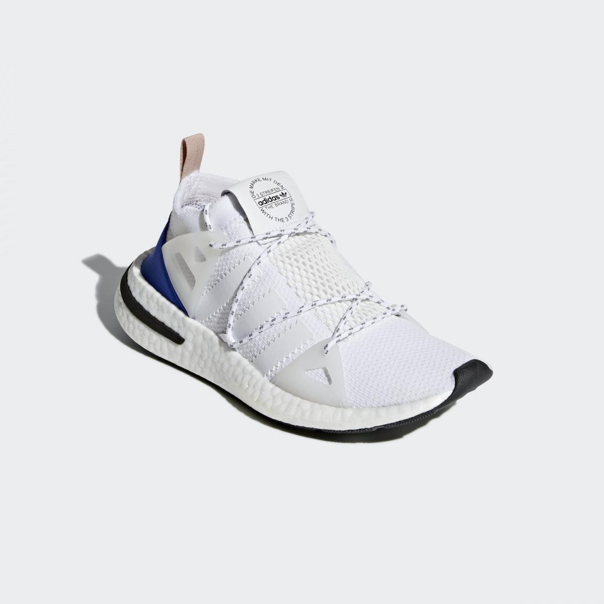 合成繊維 【公式】 アディダス CQ2748 レディース 合成皮革 ゴム底 シューズ adidas ARKYN