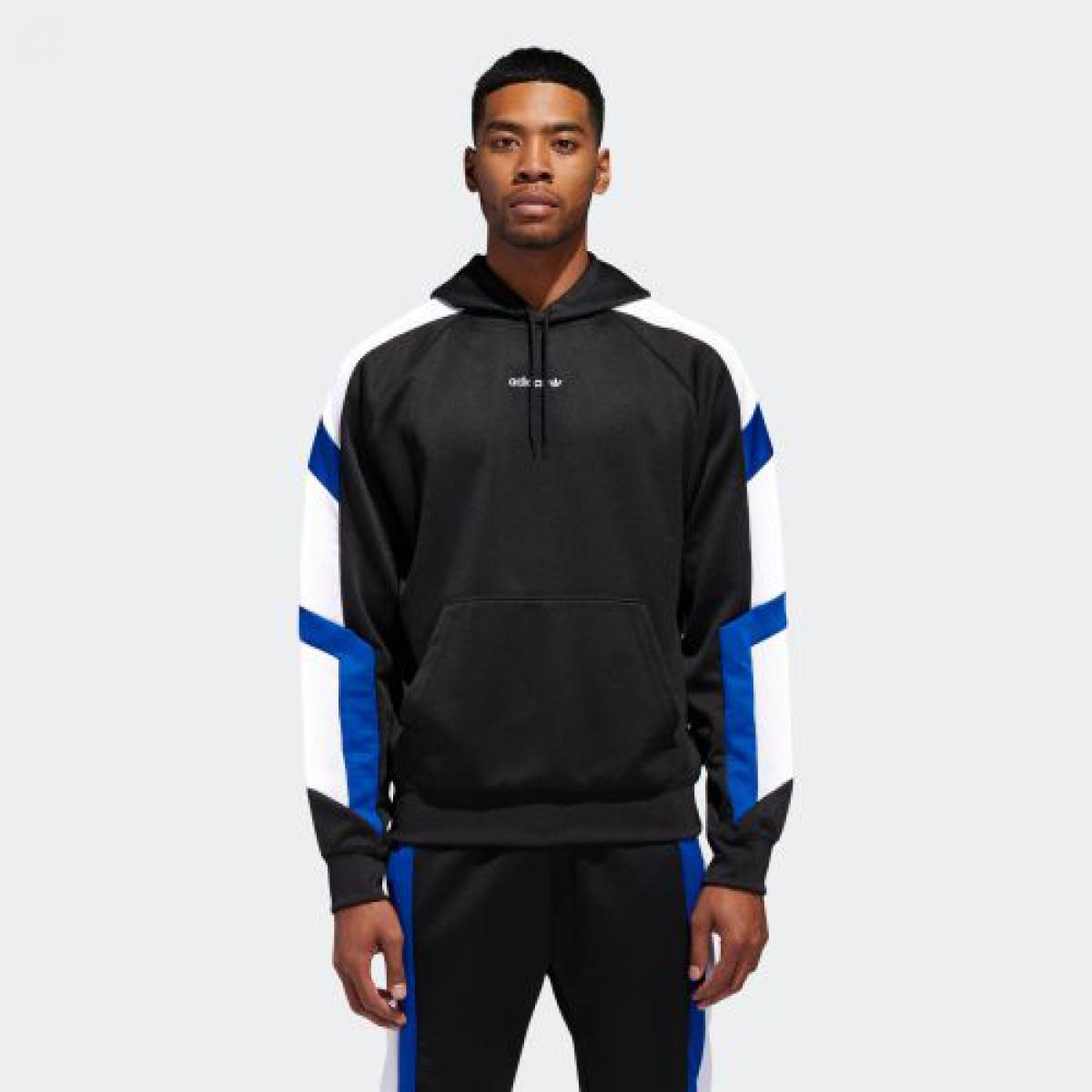 【公式】アディダス adidas EQT BLK HOODIE メンズ DH5221 ウェア 綿 ポリエステル インターロック