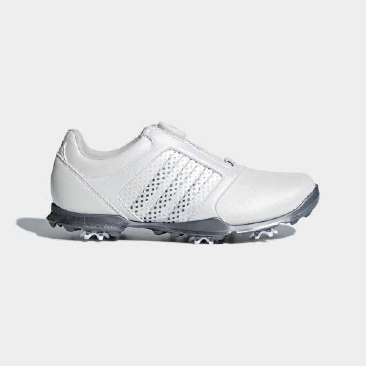 【公式】アディダス adidas ウィメンズ アディピュア ボア 【ゴルフ】 レディース F33639 ゴルフ シューズ 人工皮革・天然皮革 合成底