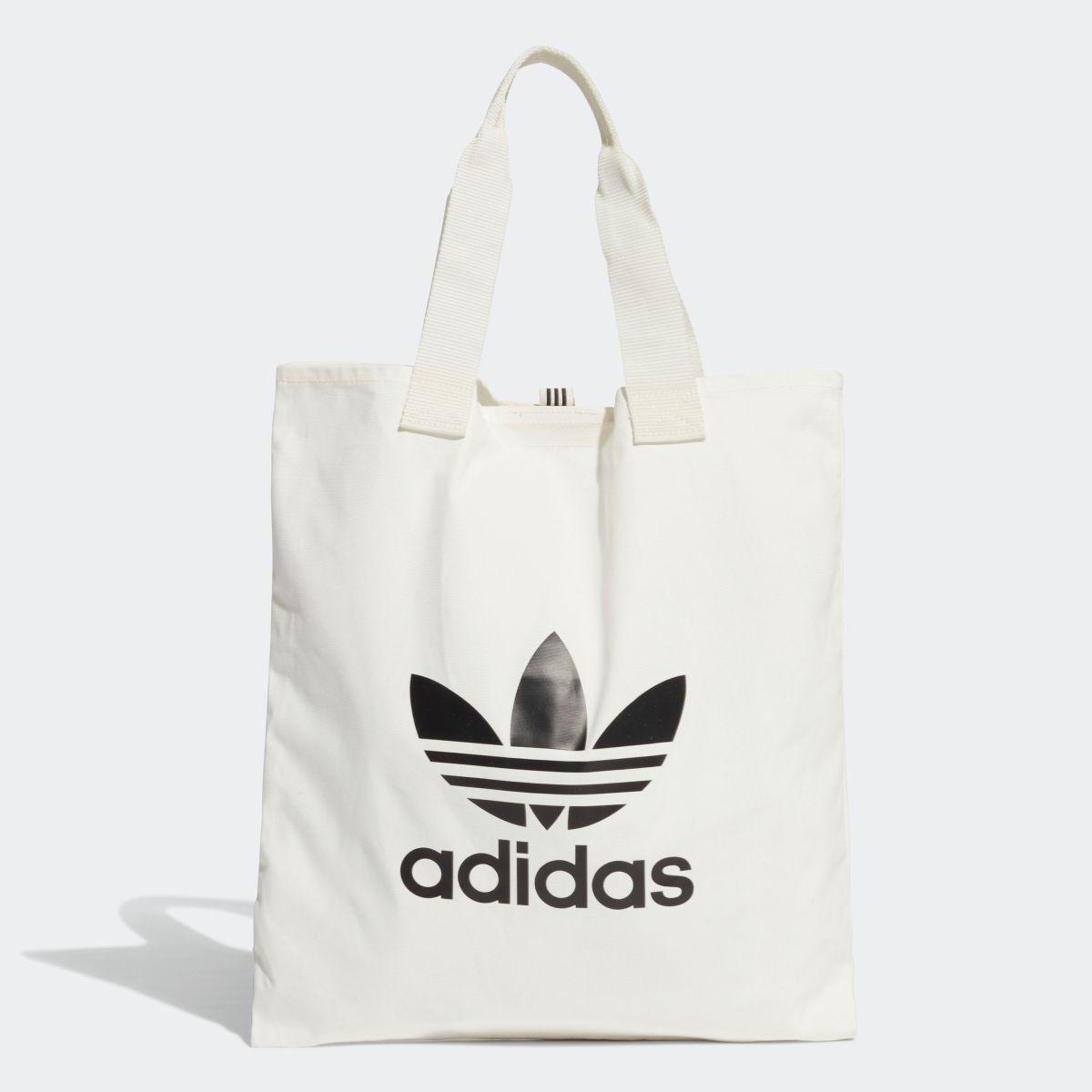 全品! 4/9 17:00~4/15 16:59 【公式】アディダス adidas トレフォイル ショッパーバッグ レディース DX2047 ライフスタイル アクセサリー