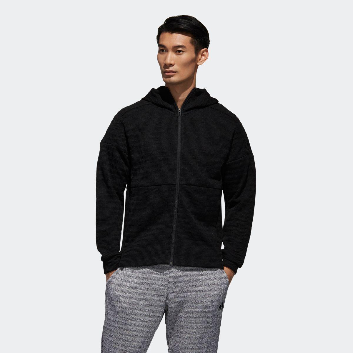 bas prix 6e348 f946e Adidas adidas ID quarter knit full zip parka men ass Rheticusware tops  parka, sweat shirt DV1118