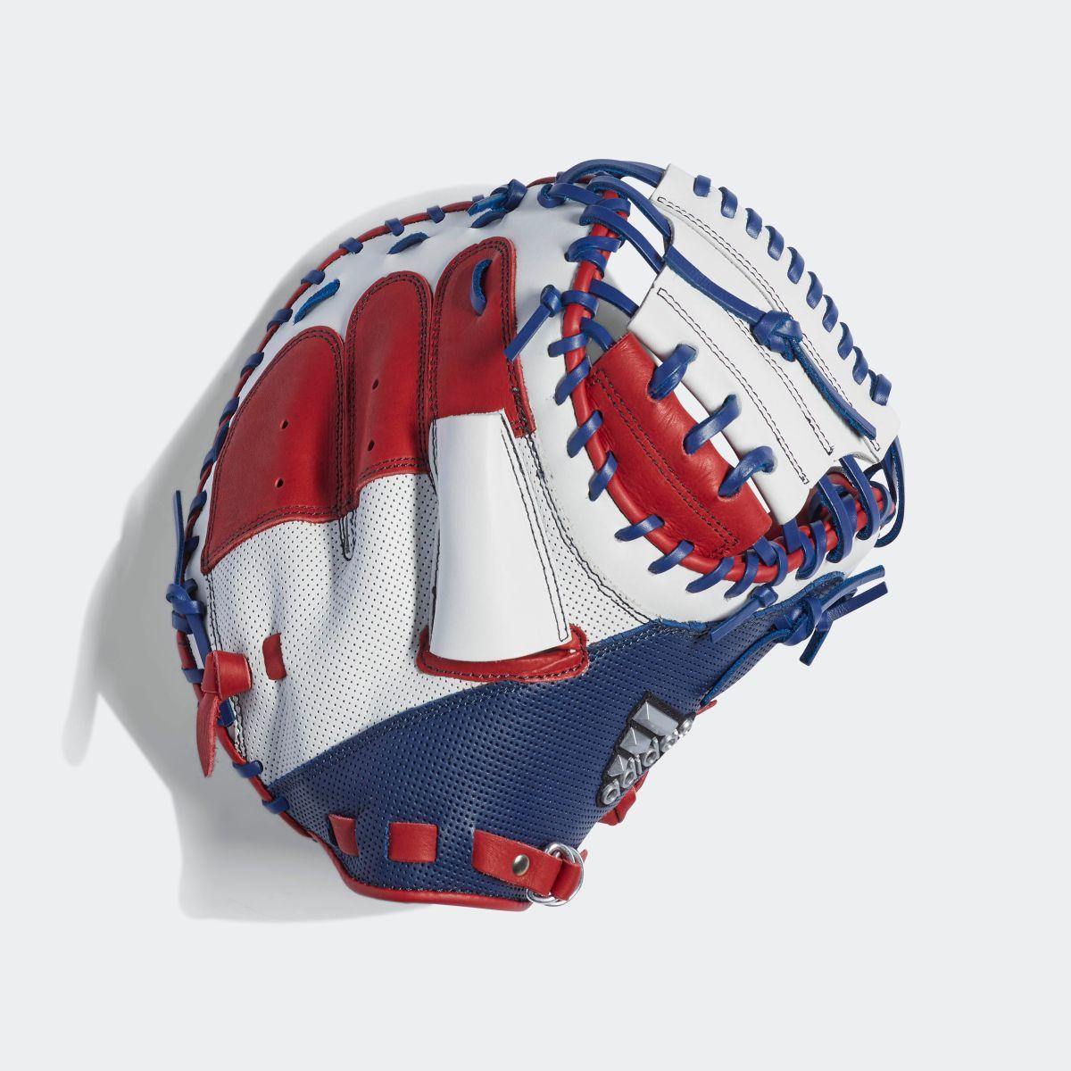 【公式】アディダス adidas 軟式 カラーグラブ 捕手用 メンズ 野球 アクセサリー プロテクター ボールグローブ DU9627