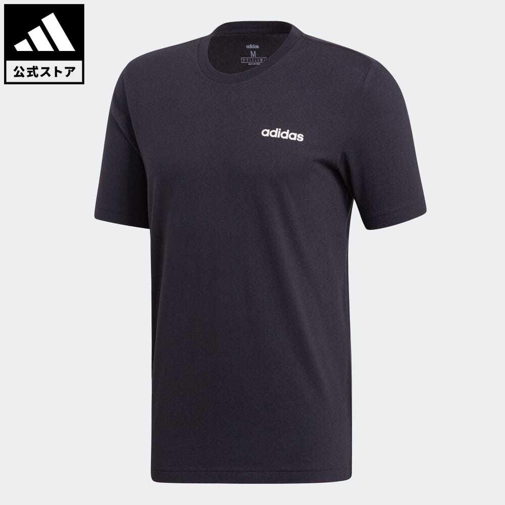 公式セール セール価格 エッセンシャルズ 【公式】アディダス adidas 返品可 M CORE ベーシックTシャツ メンズ ウェア・服 トップス Tシャツ 黒 ブラック DU0367 半袖